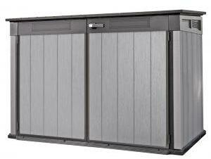 Afbeelding van Antraciet-grijze Keter - Berging - Grande Store - 190,5 x 109,3 x 132,5 cm - grijs