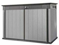 Antraciet-grijze Keter - Berging - Grande Store - 190,5 x 109,3 x 132,5 cm - grijs