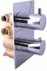 Saniclear Talpa inbouw thermostaat met inbouwdeel chroom