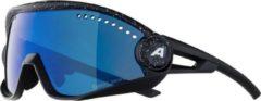 Alpina - 5W1NG CM+ Ceramic Mirror Cat 3 - Fietsbril blauw/zwart