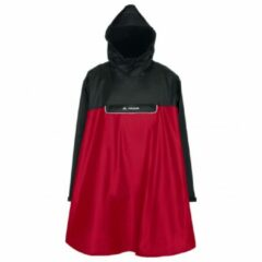 Rode Vaude Valero Regenponcho - Unisex - Indian Red