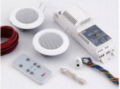 KBSound Einbauradio Basic für Küche und Bad mit Fernbedienung und Lautsprecher