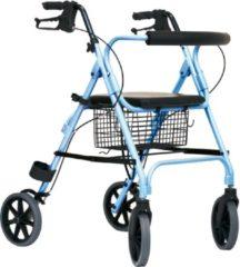EasyLivingProducts Thuasne Rollator Move Light - Lichtgewicht - Opvouwbaar -7,5 kg - blauw