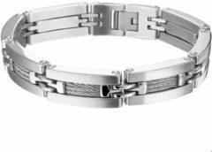 Zilveren Huiscollectie TFT Armband Staal 13 mm 21,5 cm