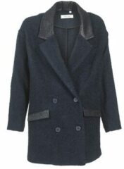 Blauwe Mantel Naf Naf ADELAIDE