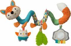 Oranje Infantino Hangspeeltje spiraalvormig - Vos