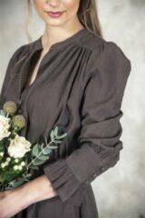 Donkerbruine Jeanne d'arc living Dress Dreamfull Sense