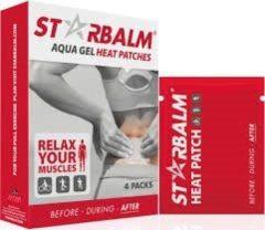 Star Balm Aquagel warmtepleister 4 Stuks
