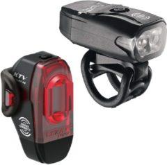 Lezyne KTV Drive/KTV Pro Smart Pair 220F/75R Verlichtingsset - 220 Lumen - Zwart