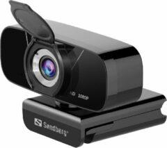 Sandberg 134-15 webcam 2 MP 1920 x 1080 Pixels USB 2.0 Zwart