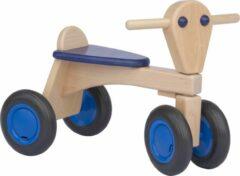 Van Dijk Toys - Houten Loopfiets Junior Blauw