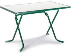 Best Gartentisch »Primo«, klappbar, Stahl/Kunststoff, 110x70 cm, grün