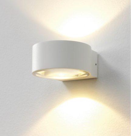 Afbeelding van Witte LT-Luce Wandlamp LED Hudson WIT IP54