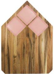TAK Design Pau Snijplank - Acaciahout - 40,5 x 28,5 cm - Roze