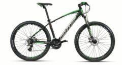 Montana Bike 27,5 ZOLL MONTANA URANO MOUNTAINBIKE ALUMINIUM 21 GANG MTB Hardtail Herren schwarz-grün