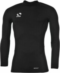 Zwarte Sondico ondershirt met opstaande kraag - Heren - Black - XL