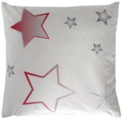 Kissenhülle Stars Home Wohnideen weiß