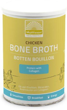 Afbeelding van Chicken Bone Broth - Kippen Bottenbouillon - Mattisson Healthstyle
