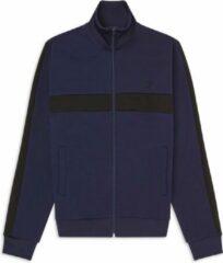 Fred Perry - Contrast Panel Track Jacket - Blauw - Heren - maat S