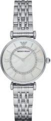 Emporio Armani AR1908 Horloge staal zilverkleurig 32 mm
