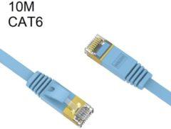 Orico RJ45 Gigabit Ethernet netwerkkabel CAT 6 - 10M - Blauw