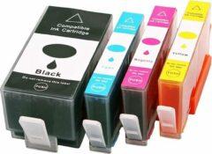 Blauwe ActiveJet Inktmedia® huismerk- inktcartridge - geschikt voor Hp Set 4x patroon voor HP 934XL 935XL