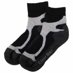 Grijze Rohner - Rohner Basic Running / Walking 2er Pack maat 35-38 zwart/grijs