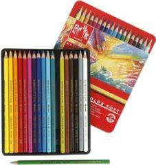 Creativ company Supracolor II aquarelpotloden vulling: 3 8 mm l: 17 cm diverse kleuren 18stuks dikte 7 mm