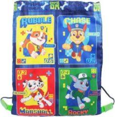 Nickelodeon gymtas Paw Patrol junior 5 liter nylon blauw