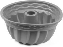 Khadija Tulbandvorm grijs / siliconen / cakevorm / bakvorm / 24 cm