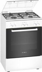 Witte Bosch HXA090D20N - Serie 2 - Gasfornuis