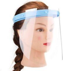 Alpina Gezichtsmasker 4 schermen 1 band - Verstelbare Band - Spatscherm - Transparant - Hygiëne masker - Gezichtsbescherming - Gecertificeerd - Gelaatscherm - Face shield - Mannen - Vrouwen