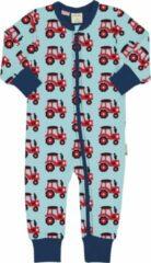 Rode Maxomorra baby onesie Tractor 74-80