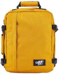 Oranje Cabinzero Mini handbagage Orange Chill ultralichte cabin rugzak wizair