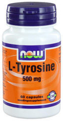 Now Foods Now L-tyrosine 500 Mg Trio (3x 60cap)