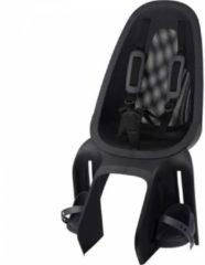 Zwarte Qibbel Air Fietsstoeltje Achter Bagagedrager bevestiging - Black