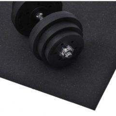 HOMCOM Bodenschutzmatte für Fitnessgeräte Unterlegmatte 220x110cm Bodenschutzmatte Bodenmatte Multifunktionsmatte