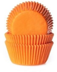 House of Marie Cupcake Cups Oranje 50x33mm. 50st.