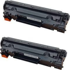 Zwarte KATRIZ® huismerk toner CF283X (2stuks) |LaserJet Pro M201 / LaserJet Pro M201 DW/LaserJet Pro M201 N/LaserJet Pro M225dn/LaserJet Pro M225dw