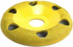 Gele Saburrtooth Saburr Open carving wheel 100 mm, round, fine