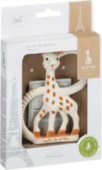 Beige Sophie de Giraf Bijtring - Soft - In witte geschenkdoos