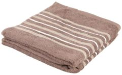 SEASTAR Superflausch Duschtuch, beige, Streifen, 2er-Set