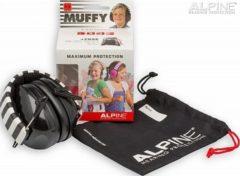 Alpine Hearing protection Alpine Muffy - Oorkap voor kinderen - Gehoorbescherming - SNR 25 dB - Zwart