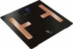 Berlinger Haus 9107 - Digitale badkamer BODYFAT weegschaal - 150 kg - black-rose collection