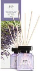 Transparante Ipuro New Essentials geurstokjes lavender touch 100ml