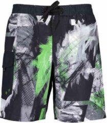 Blue Seven heren zwembroek groen/zwart print - maat L