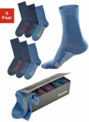 Blauwe Bench sokken (set van 6 paar)
