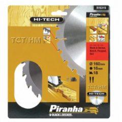 Skil BLACK+DECKER Piranha Sägeblatt für Kreissäge, TCT/HM 160x16 mm K18 X15315-XJ