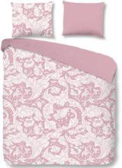 Roze Descanso Birza - Dekbedovertrek - Lits-jumeaux - 240x200/220 cm + 2 kussenslopen 60x70 cm - Pink