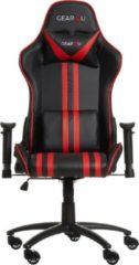 Gear4U Elite gaming stoel - gamestoel / game stoel - zwart / rood